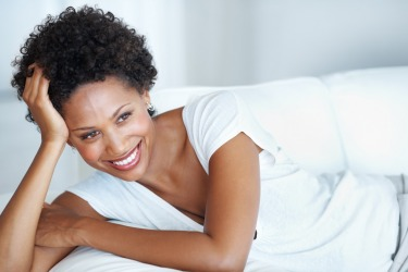 happy woman -good mood