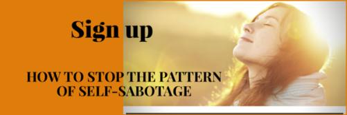 Sign up for Stop Self-Sabotage