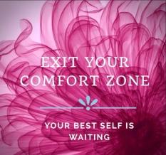 exit your comfort zone