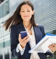 Business-Woman on phone