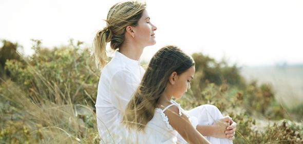 mother daughter meditation