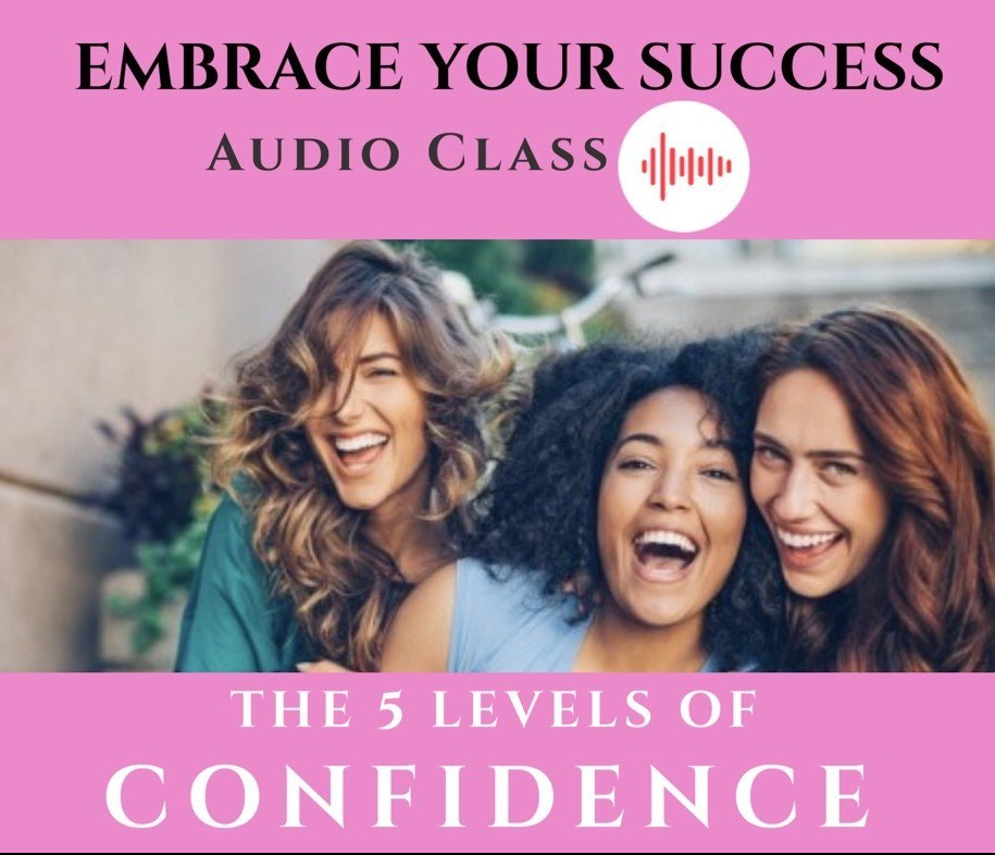 5 levels of confidence Audio class by Ana Batreto