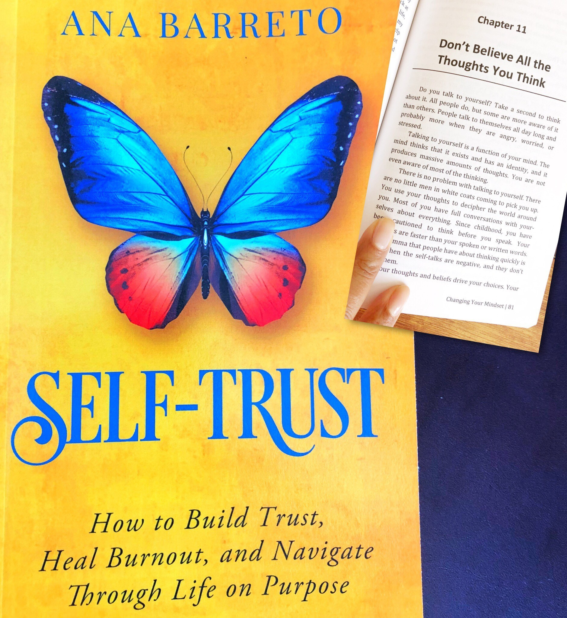 Self Trust Book by Ana Barreto